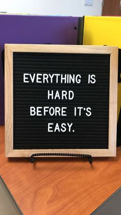 The Difference Between Ordinary And Extraordinary Is That Little Extra: The Letter Board Adventure La Mode