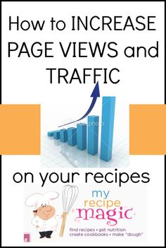 How to increase your pageviews and traffic on your recipes…