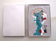 """Ejercicio para el """"Master de Album Infantil Ilustrado"""" propuesto por Violeta Lópiz: Haz tu autorretrato.  Mi solución fue mostrar las diferentes """"capas"""" que conforman a un ser humano, los pensamientos, los sentimientos... y la posibilidad de irlas eliminando hasta quedarse con la esencia. Selfportrait. This is a project for the Master """"Illustrated Children´s Books"""" I´m participating in. It was an exercise suggested by the artist Violeta Lópiz. Make your self-portrait. My propossal was…"""
