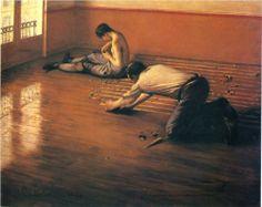 Les raboteurs de parquet  - Gustave Caillebotte, 1876