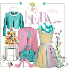"""Sugar in Spring"" by apparel-p-m ❤ liked on Polyvore"