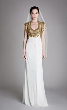 Temperley, Goddess Dress - makes me think of ancient Egypt and Rome. Beautiful.