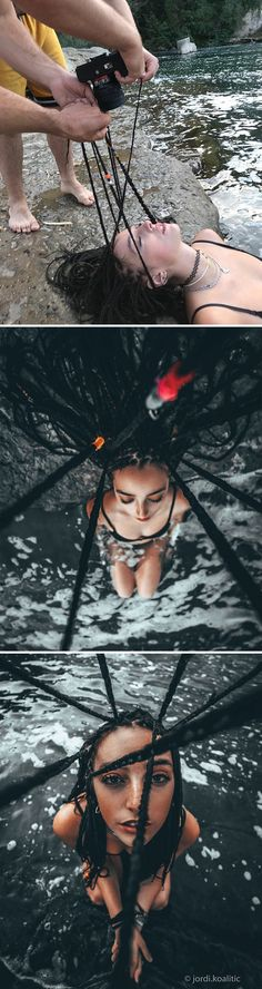 Photographer Uses Creative Tricks To Take Amazing Pictures New Pics) - Creative-Photography-Tips-Tricks-Jordi-Puig Creative Portrait Photography, Creative Portraits, Photography Tutorials, Amazing Photography, Portrait Photo Original, Portrait Art, Creative Photoshoot Ideas, Perspective Photography, Jolie Photo