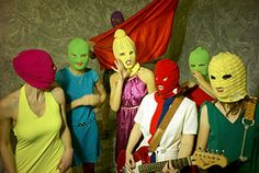 416585ca273 Free Pussy Riot  Feminist Punk Band Jailed for Protesting Putin