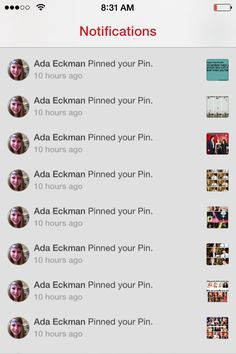 Please go and follow @adaeckman! She flooded my notifications with millions of  re-pins! Like always, I will tag her down below in the comments:)
