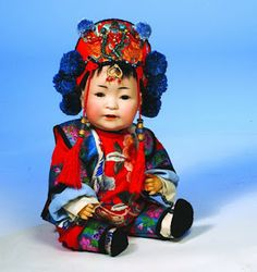 Old chinese dolls, Reproduction