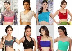 Blouse is a role model for the saree ensemble. Found the latest neck blouse designs.