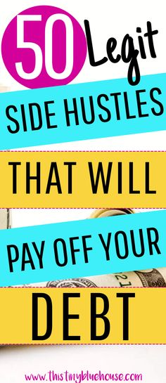 50 Legit SIDE HUSTLES that will help you pay off your debt, pad your savings and gain control of your finances #sidehustle #sidehustleideascanada #sidehustleideas #sidehustlecanada #sidehustletips #sidejobs #sidejobstomakemoney #sidejobsextramoney #sidejobsfromhome #sidegigsextracash #sidegigs #sidegigsfromhome #makeextramoney