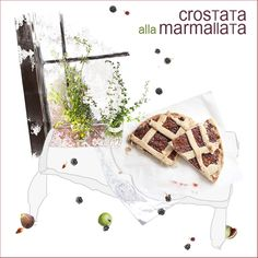 simple and sweet : crostata w/ fig marmalade. recipe : http://www.lacucinaditerresa.blogspot.fr/2015/12/an-umbrian-tale-crostata-alla-marmallata.html