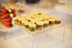 mini-chicken sandwiches. so cute!