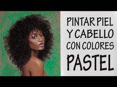 CÓMO PINTAR PIEL NEGRA CON PASTEL. Belleza afroamericana. (+lista de rep...