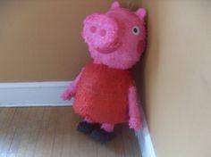 Peppa Pig Pinata - time for Joe to get his pinata skills out again!