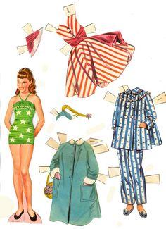 Lennon Sisters 1957 - Bobe Green - Picasa Webalbum* 1500 free paper dolls international artist Arielle Gabriel's The Internatonal Paper Doll Society for paper doll pals at Pinterest *