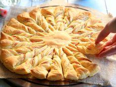 Découvrez la recette Tarte soleil au saumon sur cuisineactuelle.fr.