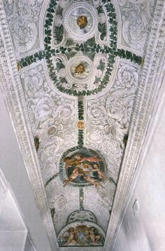 CORTONA, Pietro da Italian painter/architect, Roman school (b. 1596, Cortona, d. 1669, Roma) Vault painting 1632 Fresco Palazzo Barberini, Rome