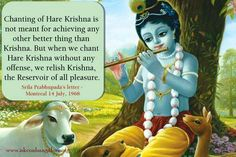 """THE NEWSLETTER – HARE KRISHNA. """"The material disease – I want to be the Master""""…"""