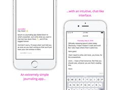 Ipsum for iPhone Chat with your Journal by Sam Ghobril