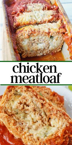This easy ground chicken meatloaf recipe only has 6 ingredients but is filled with homestyle appeal. This easy meatloaf recipe is a quick spin on an old classic and is ready to be introduced to your weekly menu roundup. Good Meatloaf Recipe, Meat Loaf Recipe Easy, Best Meatloaf, Meatloaf Recipes, Ground Chicken Meatloaf, Ground Chicken Recipes, Weekly Menu, Food Dishes, Main Dishes