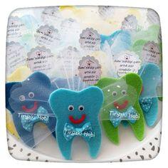 ♥ Tiryaki Hobi ♥: Keçe diş magnet (SAMİ)