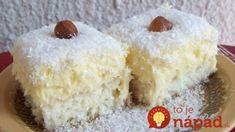 Luxusné kokosové kocky: Ten krém chutí presne ako Raffaello!