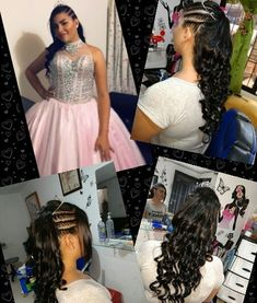 Hermosa quinceañera Prom Dresses, Formal Dresses, Instagram, Fashion, Trendy Hairstyles, Sweetie Belle, Dresses For Formal, Moda, Formal Gowns