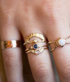 Sapphire Sotto Voce Ring, Audry Rose.
