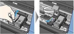 Cara Mudah Memindahkan Katridge Printer MP250 ke IP2770