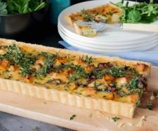 Recipe Roast Pumpkin & Goat's Cheese Tart by Thermo Nutritionist, learn to make this recipe easily in your kitchen machine and discover other Thermomix recipes in Main dishes - vegetarian. Gf Recipes, Pumpkin Recipes, Great Recipes, Vegetarian Recipes, Cooking Recipes, Recipies, Savoury Recipes, Freezer Friendly Meals, Goat Cheese Recipes