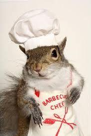 A squirrel BBQ King. Interesting.