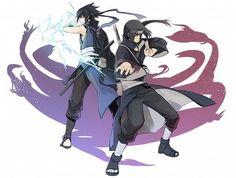 Itachi Uchiha and  Sasuke Uchiha
