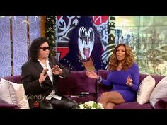 "Rock legend Gene Simmons tells us about his new book, ""Me, Inc."" Then, Gene opens up about his marriage and reveals if his son is dating Amber Rose. Kiss Songs, Music Documentaries, Best Rock Bands, Hot Band, 2016 Election, Gene Simmons, Rock Legends, Documentary, New Books"
