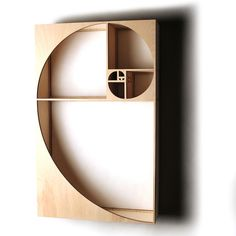 This curio shelf is designed around the beginning of the Fibonacci Sequence, approaching the golden ratio, or Phi. Small Furniture, Home Decor Furniture, Luxury Furniture, Furniture Design, Rustic Furniture, Fine Furniture, Furniture Stores, Cheap Furniture, Furniture Making