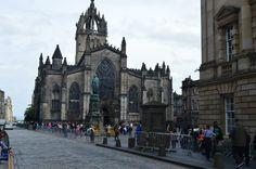 "Royal Mile - Edinburgh - ""St. Giles"""