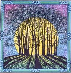 Winter Solstice-    The crisp cold    The darkest night    The joys of winter    The tiny day that fades quickly    Wintergreen and juniper berries