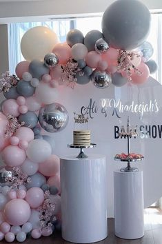 Best Selected Creative Baby Shower Themes 2019 - Page 6 of 22 - hairstylesofwomens. com Best Selected Creative Baby Shower Themes 2019 - Page 6 of 22 - hairstylesofwomens. Deco Baby Shower, Baby Girl Shower Themes, Baby Shower Decorations For Boys, Baby Shower Balloons, Shower Party, Baby Shower Games, Baby Shower Parties, Baby Boy Shower, Unique Baby Shower Themes
