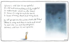 winter w The Sydney Morning Herald, Pretty Words, Old Friends, Death, Mindfulness, Age, Winter, Cold Weather, Illustrator