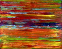 """Saatchi Art Artist Nestor Toro; Painting, """"Neon Reflection"""" #art"""