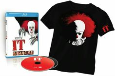 IT (ALL TWO DISC SET BLU-RAY + DVD & COLLECTIBLE T-SHIRT) COMING ON OCTOBER 4FT 2016