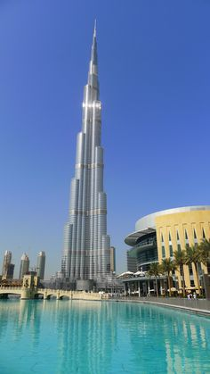 Burj Khalifa, Dubai. It wasn't finished being built when I saw it, and it was still an amazing piece of architecture. Photo by Rhonda Anderson