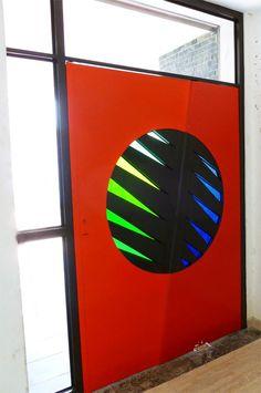 Stained Glass Art Contemporary by NUZ at Betsy Frank Gallery # Art #Artforsale #stainedglassdoor #artnuz
