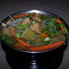 Spicy Chicken Thai Noodle Soup Allrecipes.com