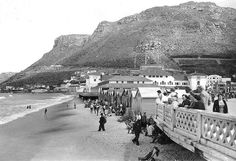 Muizenberg Beach 1940| Flickr - Photo Sharing! Cape Town South Africa, Beach Trip, Beach Travel, Olympic Peninsula, Whale Watching, African History, Lake District, Old Photos, Paris Skyline