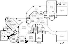 - 67105GL | European, Luxury, Photo Gallery, Premium Collection, 1st Floor Master Suite, Bonus Room, Butler Walk-in Pantry, CAD Available, Den-Office-Library-Study, Loft, MBR Sitting Area, Media-Game-Home Theater, PDF, Corner Lot | Architectural Designs