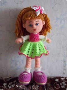Вязание крючком - Кукла Полина