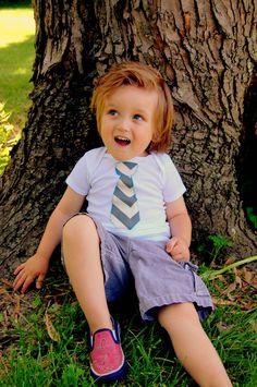 Swanky Baby Boy short sleeved onesie or tshirt by SwankyShank, $8.00
