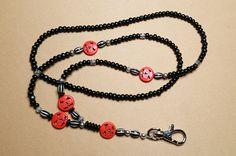 Check out this item in my Etsy shop https://www.etsy.com/listing/248767337/jack-olantern-lanyard-halloween-badge