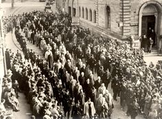 Baden Baden, Germany, 10/11/1938, Jews rounded up for deportation to Dachau. In a few years Dachau will also begin mass gassing of Jews. In its first year, it was slave labor and torture, starvation and more.