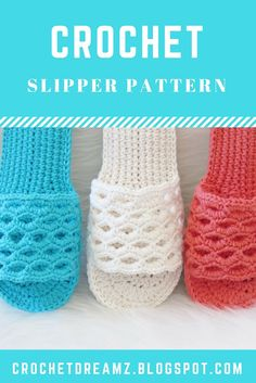 A new Crochet Woman's slipper pattern for spring. They are perfect for those lazy days where you want to stay in your PJs and read a book.  #crochetslipper. #crochetwoman'sslipper, #crochetslipperpattern, #crochetwomanslipperpattern, #crochetsandals, #crochetsandalspattern, #crochetsummerslipper, #crochetslipperseasy
