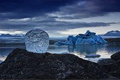 O fotógrafo alemão Tim Vollmer fotografa cenas lindas nas gelerias da Isândia e da Groenlândia
