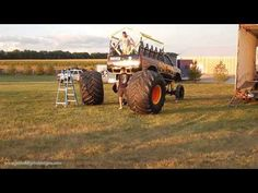 Changing a Tire on Monster Truck Cobra